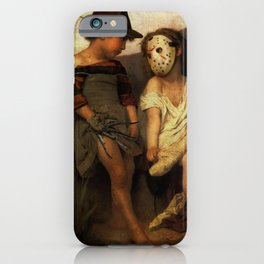 Freddy Krueger vs Jason Voorhees - Friday 13th Kids iPhone Case