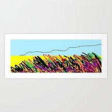 Landscape ing Art Print