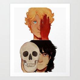 Friends of Death Art Print