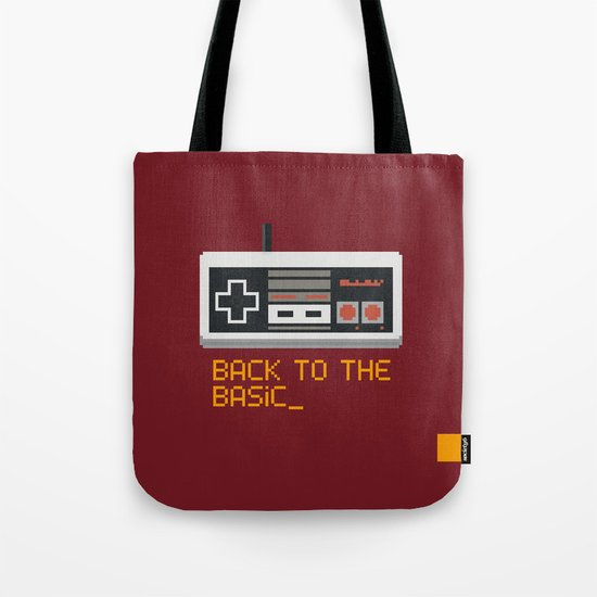 back to the basic_  Tote Bag