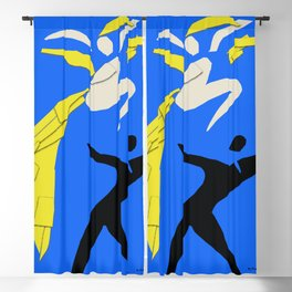 Henri Matisse Two Dancers 1937 - Cut Out Artwork Reproduction for Wall Art, Prints, Posters, Apparel Blackout Curtain