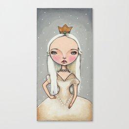White Queen - Alice in Wonderland Canvas Print