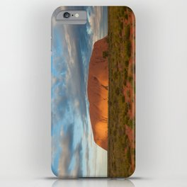 Ayers Rock at Sunset iPhone Case