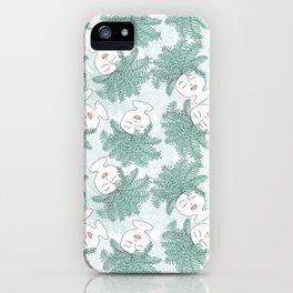 Fern-tastic Girls in Sage Green iPhone Case