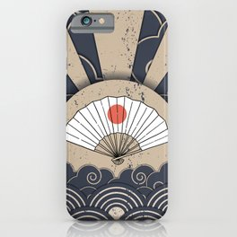 Japanese Eventail Fan iPhone Case