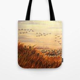 Goose Hunting Companions Tote Bag