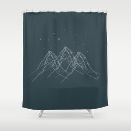 At your fingertips Shower Curtain