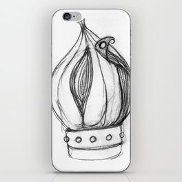 Onion Prince Fantasy Art Games iPhone Skin