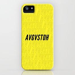 brand bee iPhone Case