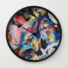Wassily Kandinsky - Improvisation Deluge Wall Clock