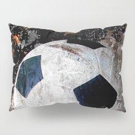 The soccer ball Pillow Sham