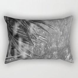 Rainstorm, Spring Storm, Yucca Tree Rectangular Pillow