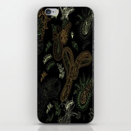 Cactus Garden Paisley 1 iPhone Skin