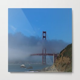 Golden Gate Brigde Metal Print