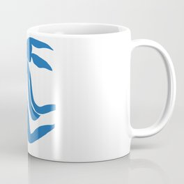 Matisse Cut Out Figure #4 Light Blue Coffee Mug