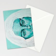 Mint Girl Stationery Cards