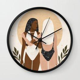 Balanced Friendship Wall Clock