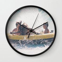 Water Fun Wall Clock