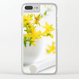 St. John's wort the strong helper from nature Clear iPhone Case