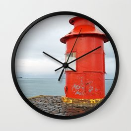 On Top of the Earth Wall Clock