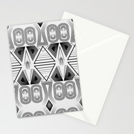 """Art Deco. """"Black and light gray"""" 28 . Stationery Cards"""