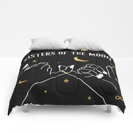 Sisters of The Moon Magical Witch Art Comforters