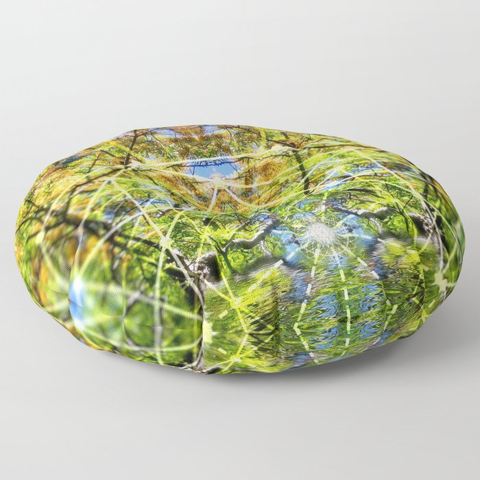 GeoBotanica V2 Floor Pillow