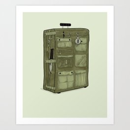 LOST Luggage / John Art Print
