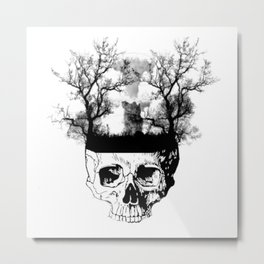 Nuclear king Metal Print