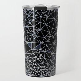 Organometric Primes 1.Black  #decor #geometric Travel Mug
