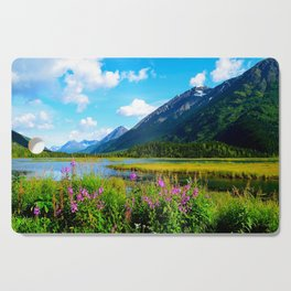 God's Country - Summer in Alaska Cutting Board