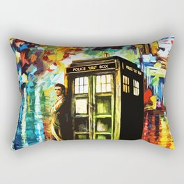 Time Lord Rectangular Pillow