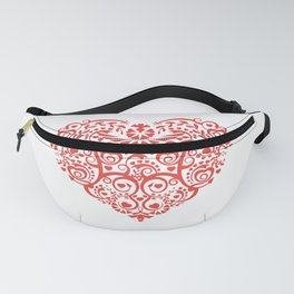 Pattern of a beautiful heart Fanny Pack