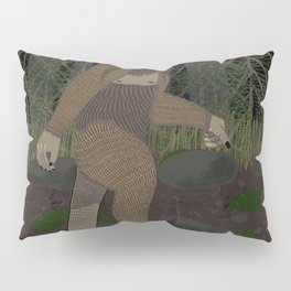 Bigfoot in the Forest Pillow Sham