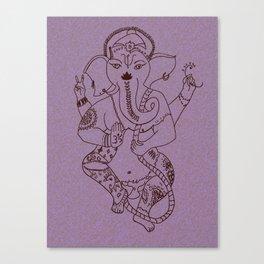 Ganesha Blush Canvas Print