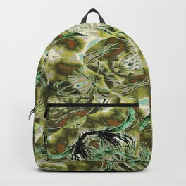 Golden Branches Backpack