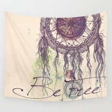 Be Free Wall Tapestry