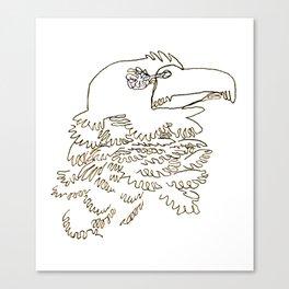Screech Canvas Print