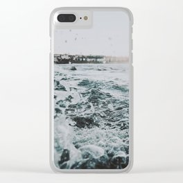 summer waves ii / bondi beach, australia Clear iPhone Case