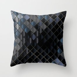 Glass Square 3 Throw Pillow