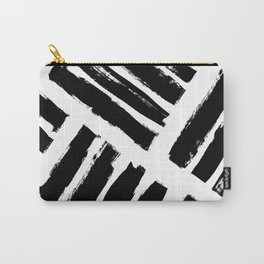Abstract Monochrome 02 Carry-All Pouch
