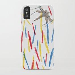 Starwars//Sea of lightsabers iPhone Case