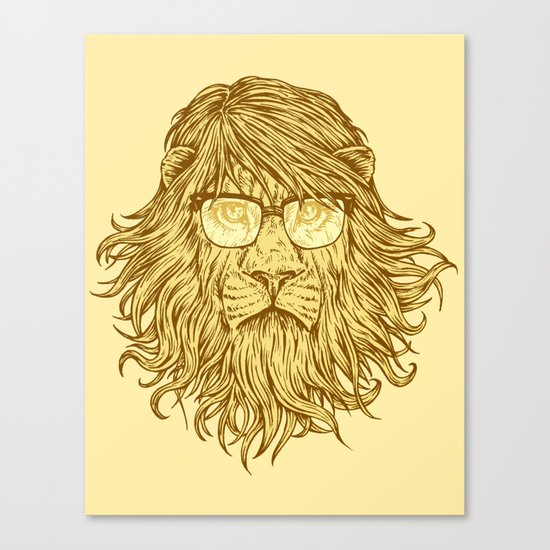 Lions Are Smarter Than I Am Canvas Print