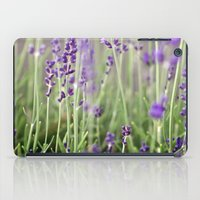 lavender iPad Cases featuring Lavender by A Wandering Soul