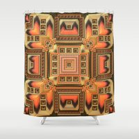 blanket Shower Curtains featuring Cozy Blanket by Lyle Hatch