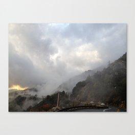Outside Twin Peaks 3 Canvas Print