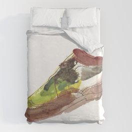 Watercolor Wingtip #1 Duvet Cover