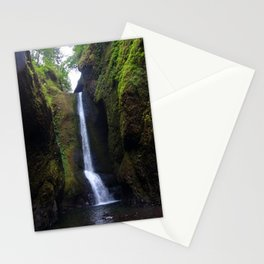 Lower Oneonta Falls, Oneonta Gorge, Oregon Stationery Cards