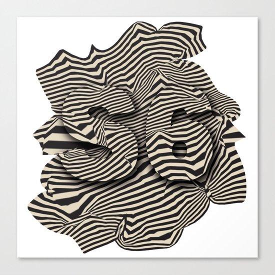 striated Canvas Print