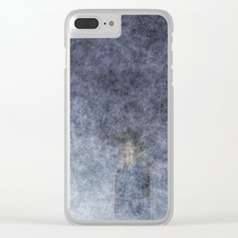 stained fantasy into the mist Clear iPhone Case
